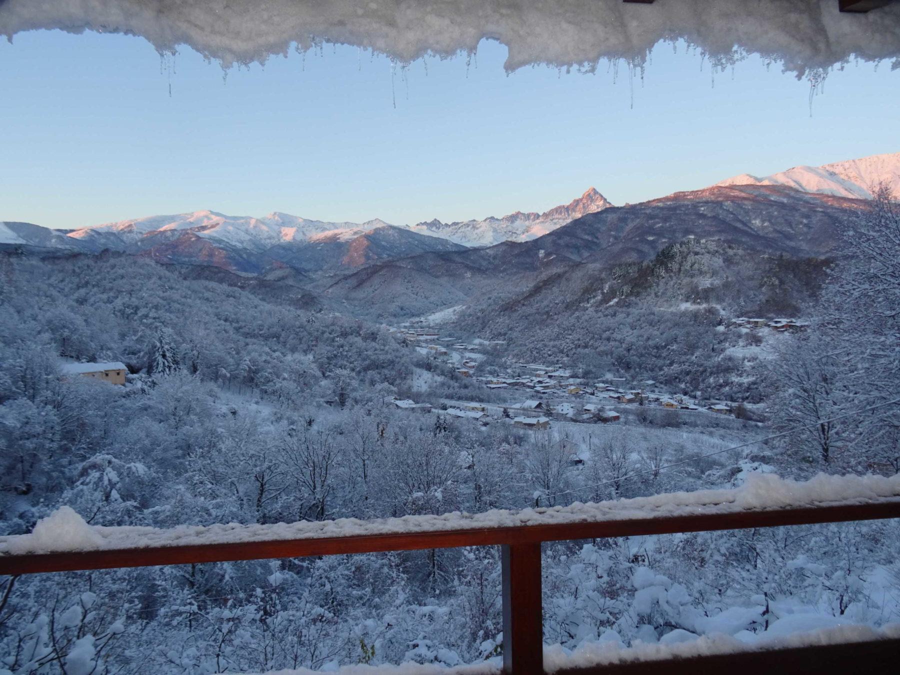 udsigt- sne